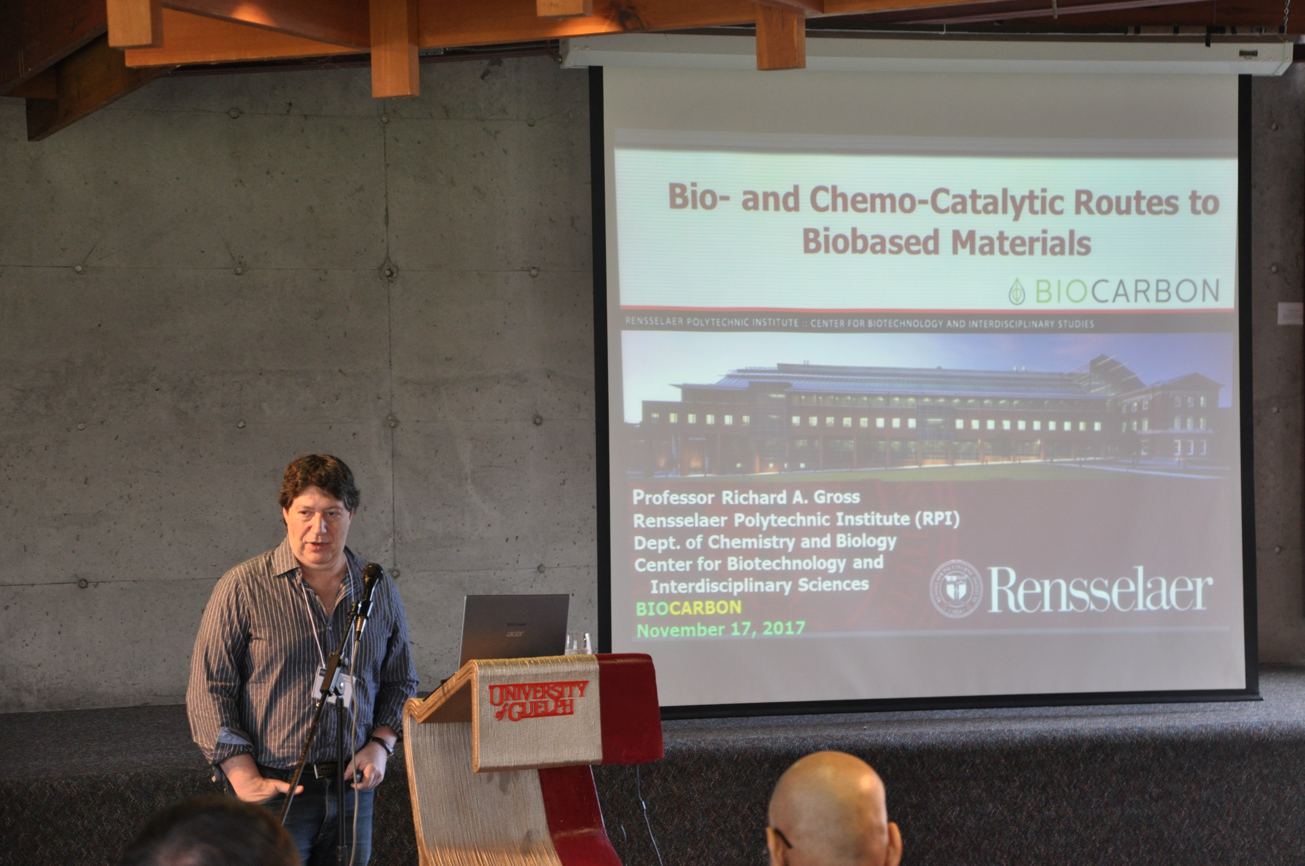 Biocarbon Research Meeting - Prof. Richard Gross Presentation