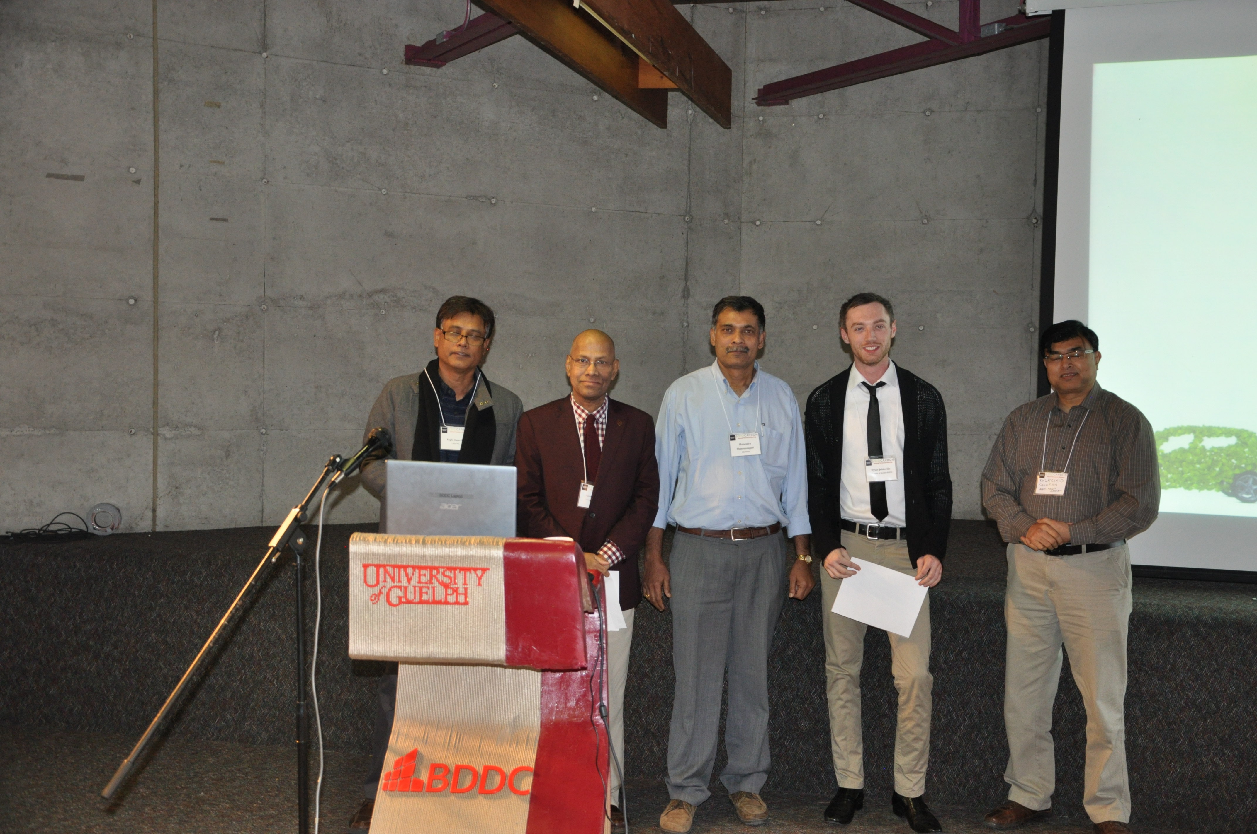 Biocarbon Research Meeting Poster Awards - First Place