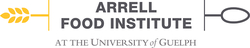 LOGO: Arrell Food Institute at the University of Guelph